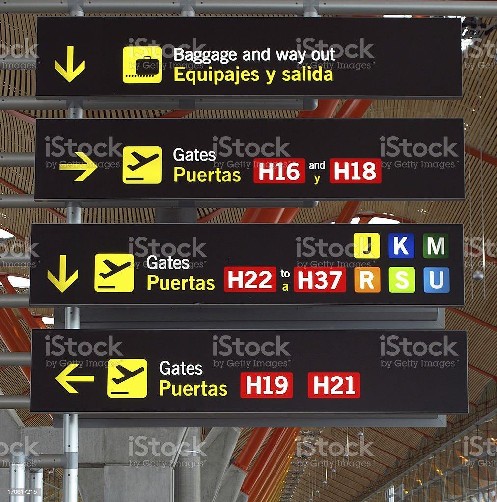 De l'aéroport de Madrid, Barajas, - Photo