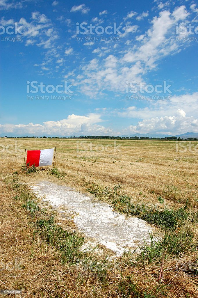 Airport Sign royalty free stockfoto