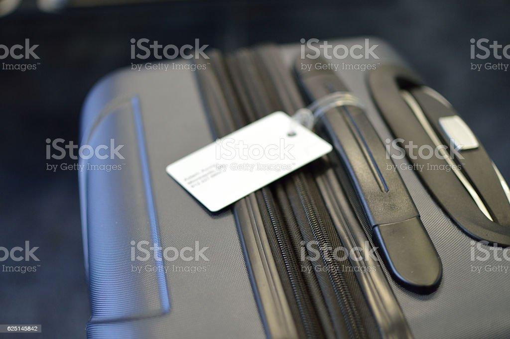 Airport Suitcase stock photo