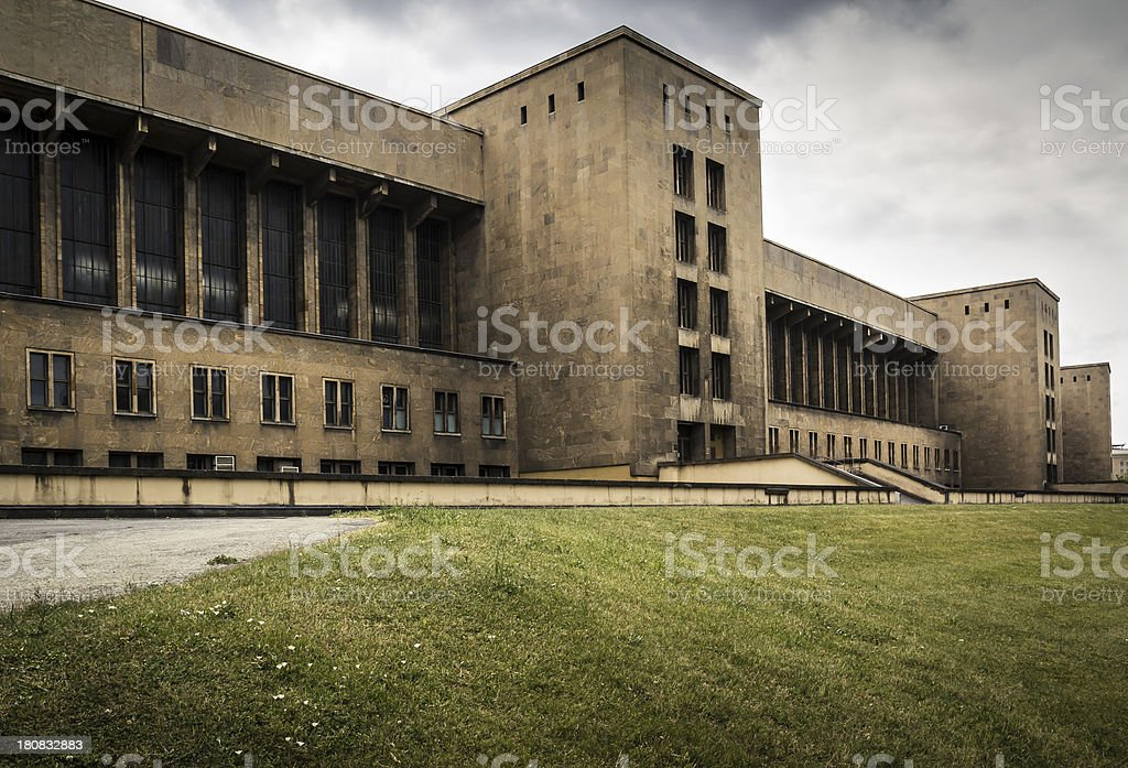 Airport Tempelhof Berlin stock photo