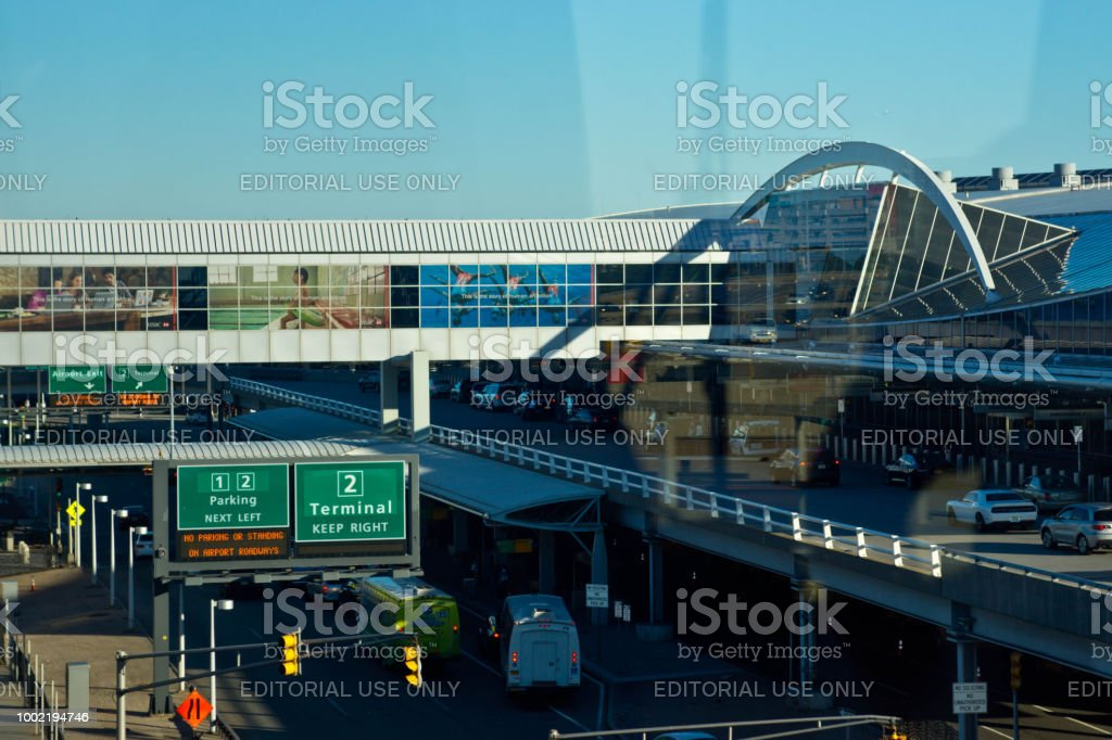 JFK airport Terminal 4 stock photo