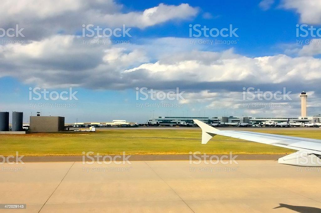 Terminal do Aeroporto de avião - foto de acervo