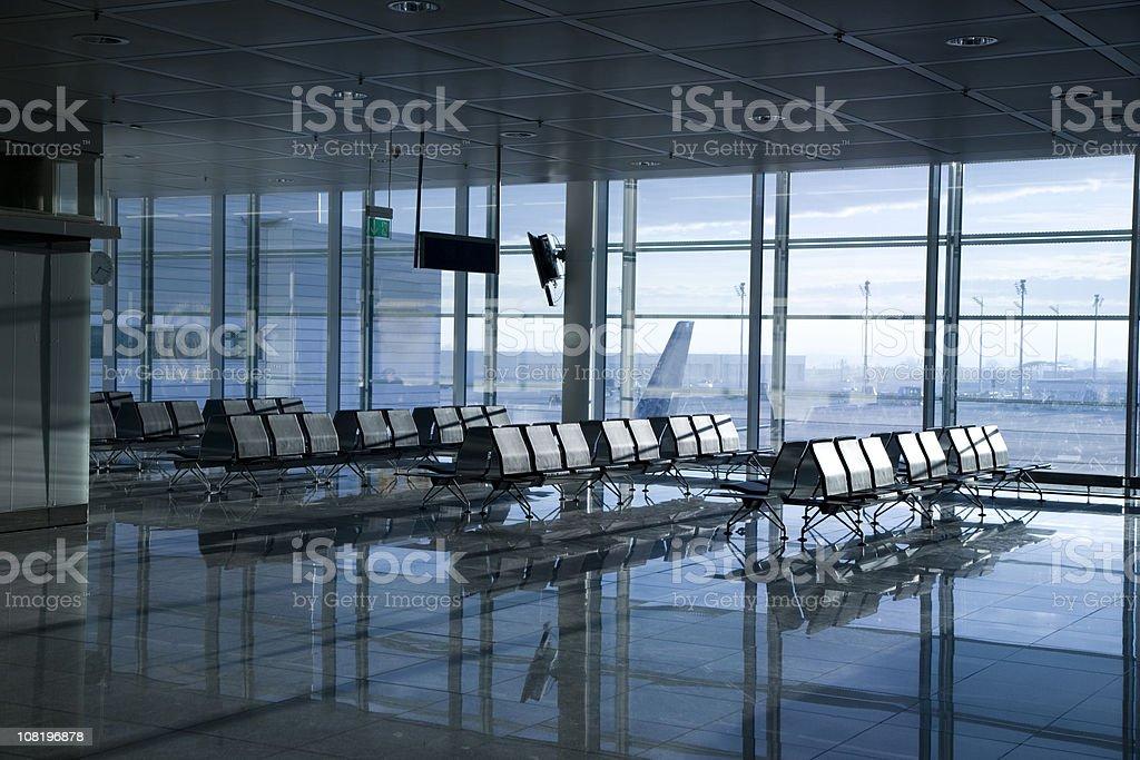 Airport Terminal Gate stock photo