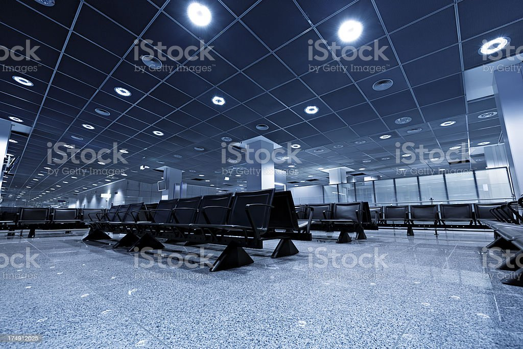 airport terminal gate royalty-free stock photo