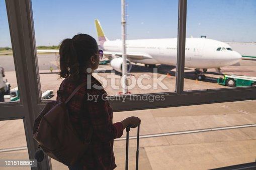 512522378 istock photo Airport terminal 1215188501