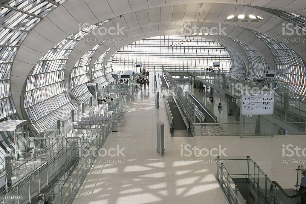 Airport Terminal royalty-free stock photo