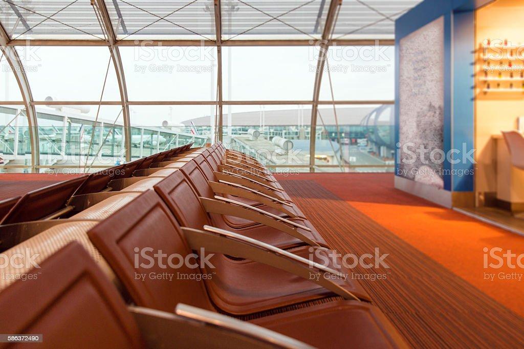 airport terminal stock photo
