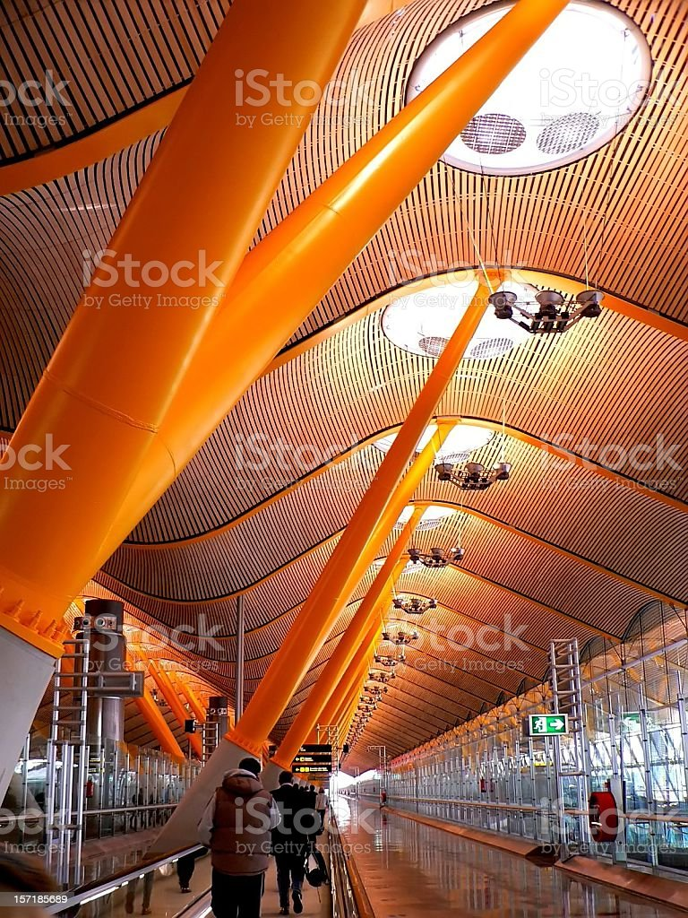 terminal de l'aéroport madrid t4 - Photo