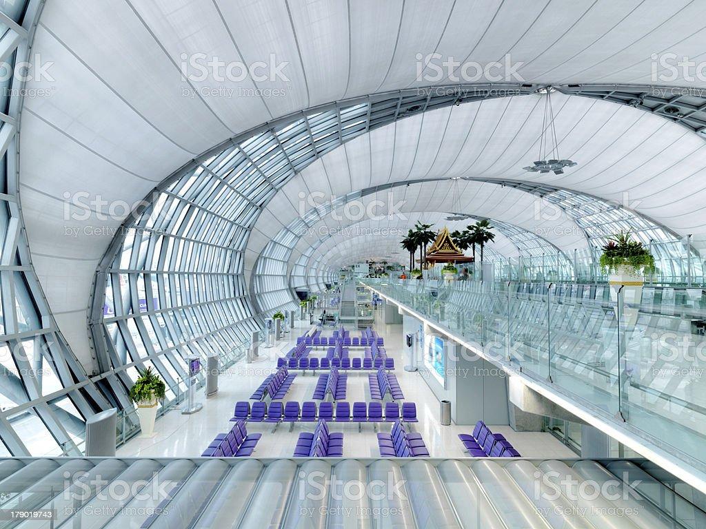 terminal de aeropuerto sala de espera - foto de stock