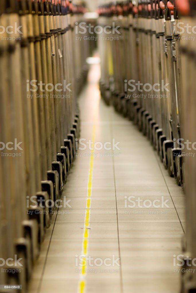 airport trolley pattern royalty-free stock photo