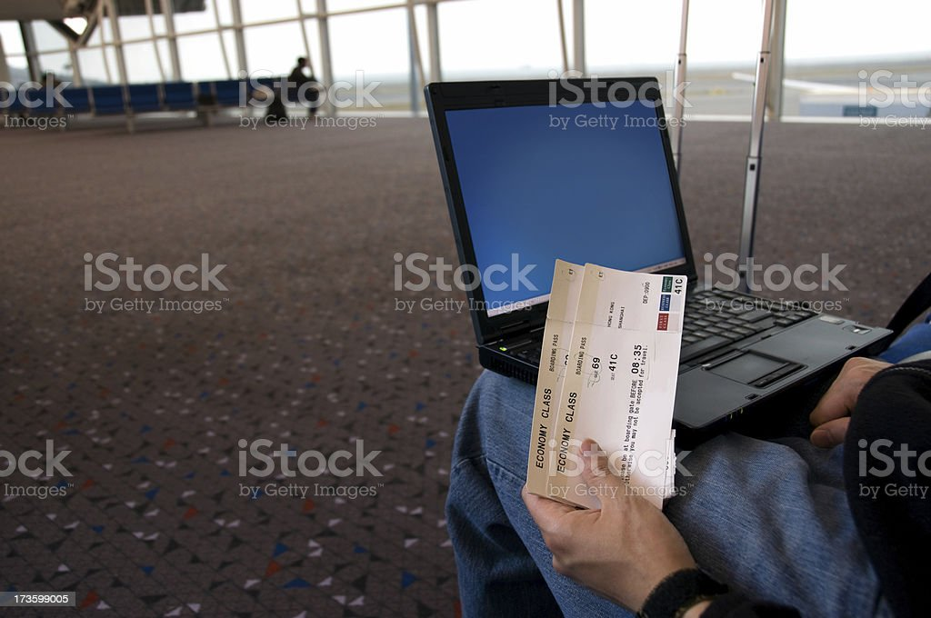airport waiting lounge royalty-free stock photo