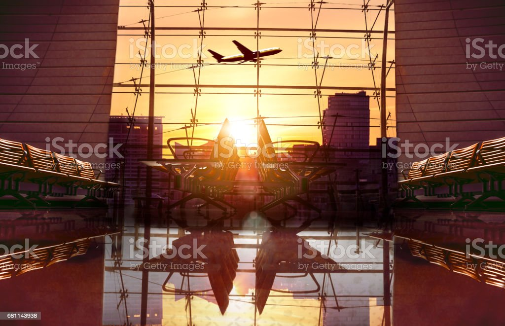 機場休息室候機等圖像檔