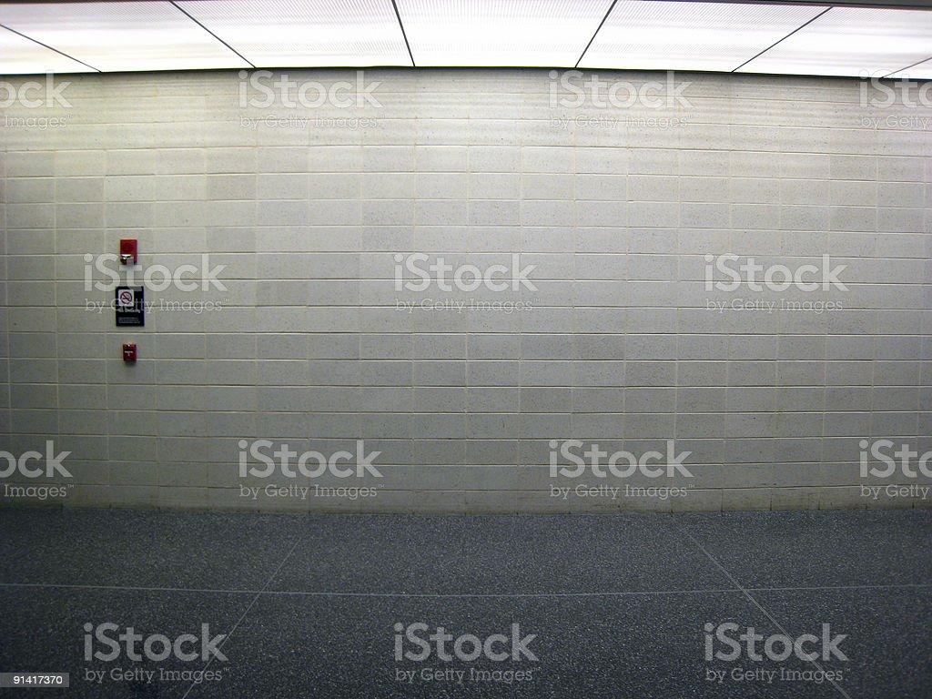 Airport Wall royalty-free stock photo