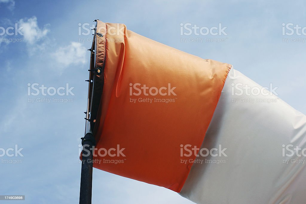 Airport Windsock royalty-free stock photo