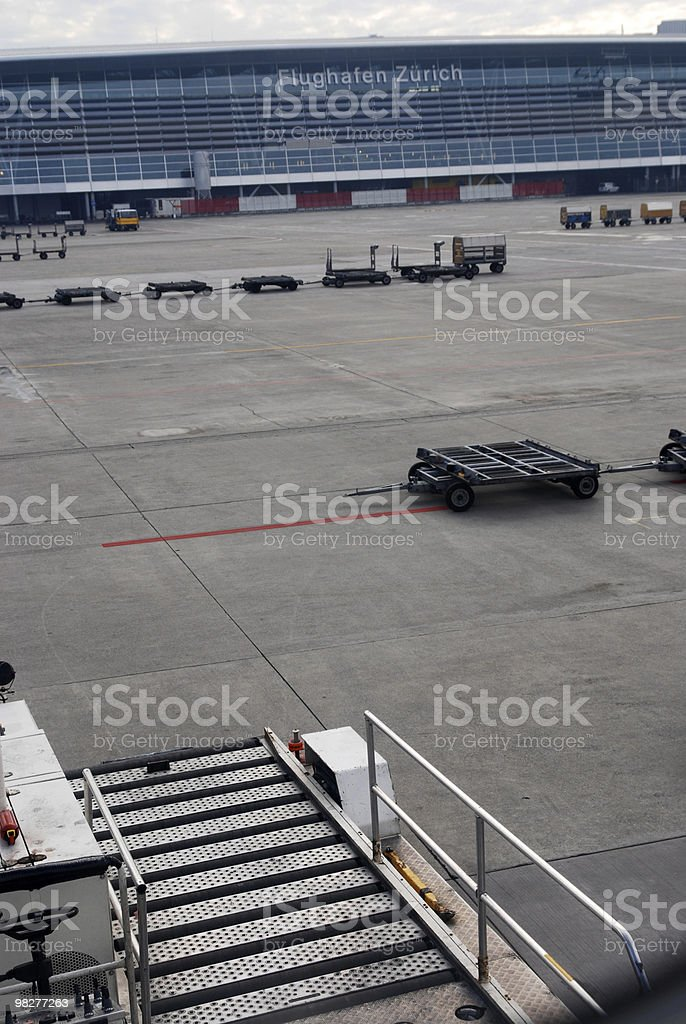 Airport Zurich royalty-free stock photo