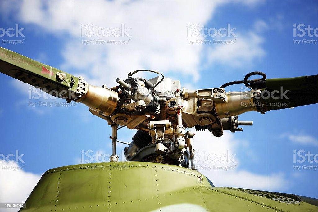 Airscrew stock photo