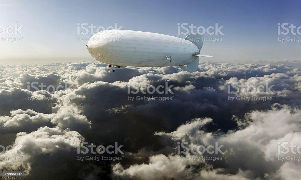 airship stock photo