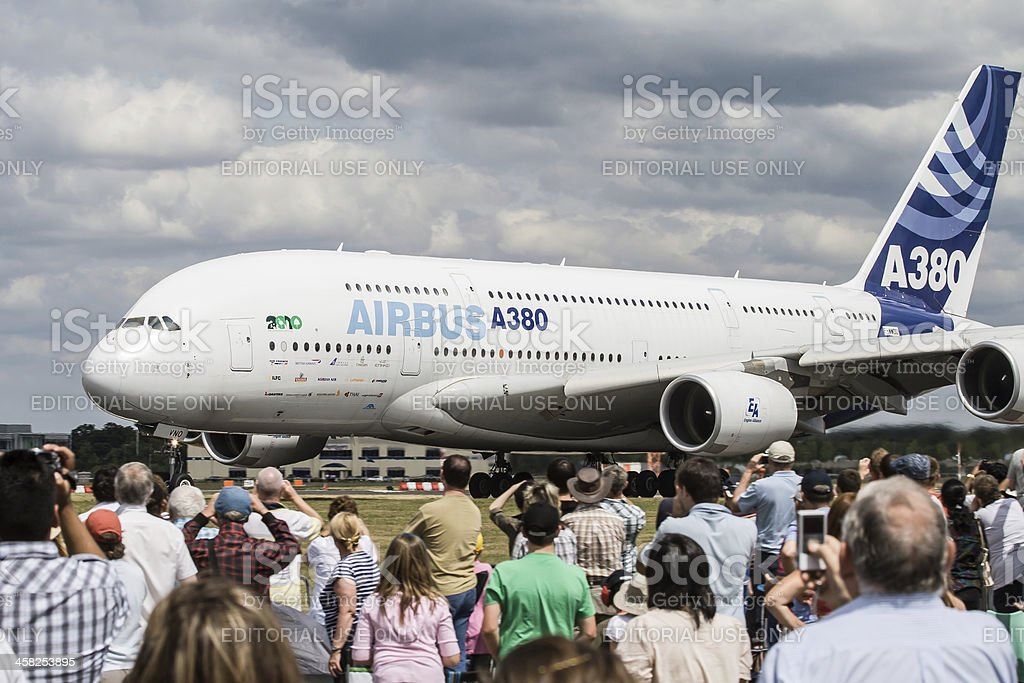 Airshow Airbus royalty-free stock photo