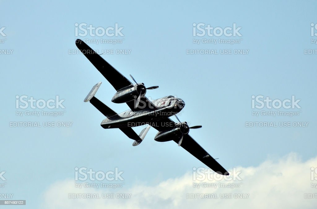 Airshow - Airpower stock photo