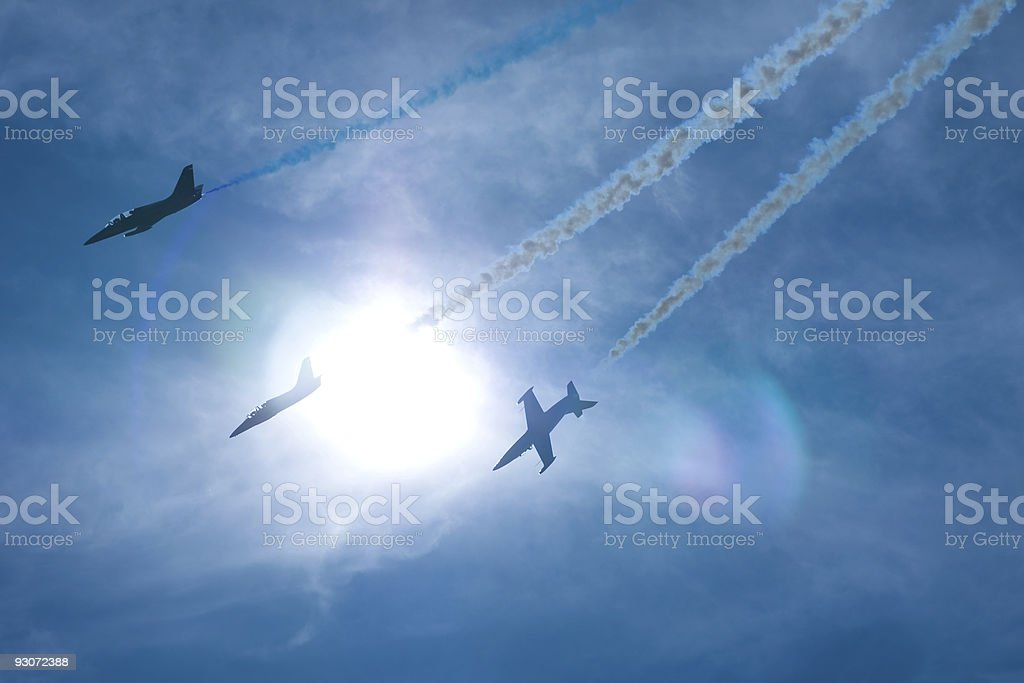 Airshow event royalty-free stock photo