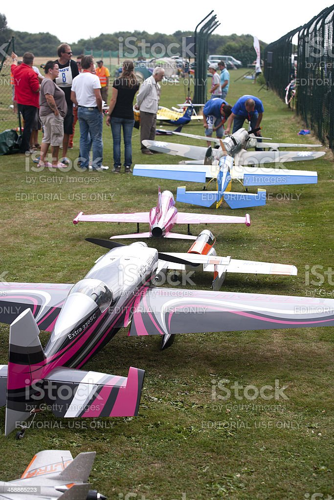 Airshow Jets over Cologne royalty-free stock photo