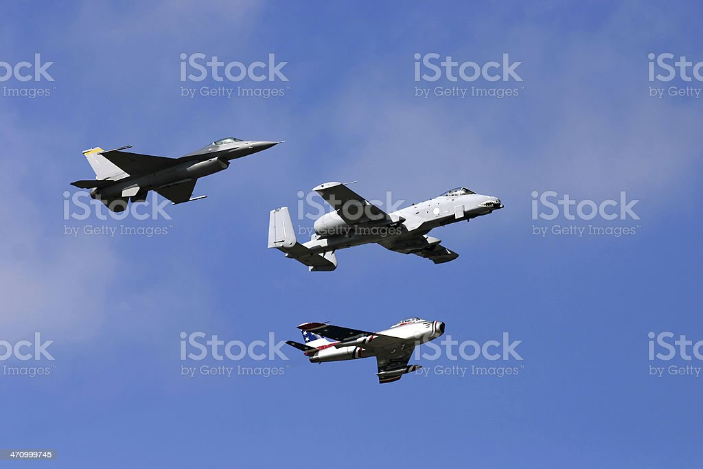 Airshow Series #8: FlyBy royalty-free stock photo