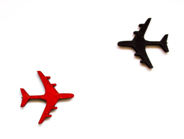 airspace traffic - deviate stock pictures, royalty-free photos & images