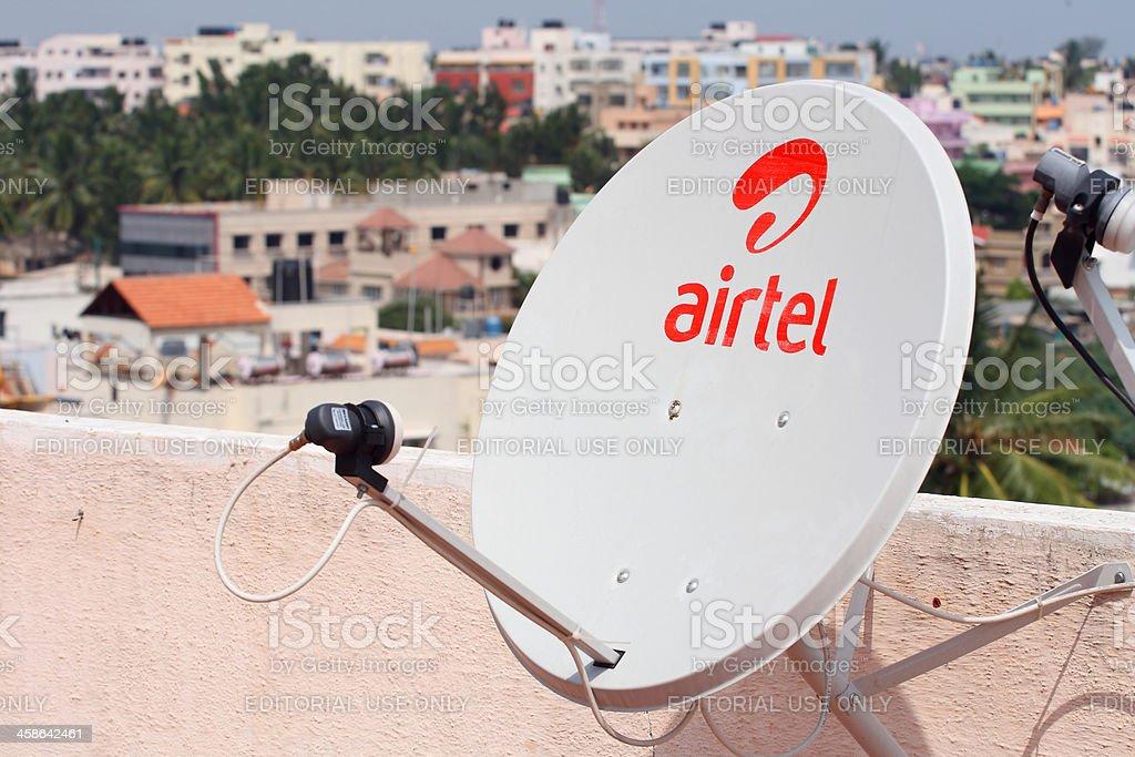 Airtel DTH satellite dish