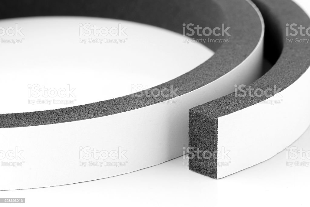 Airtight Tape Foam stock photo