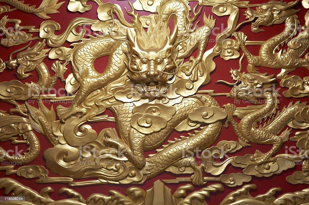 aisan dragon royalty-free stock photo