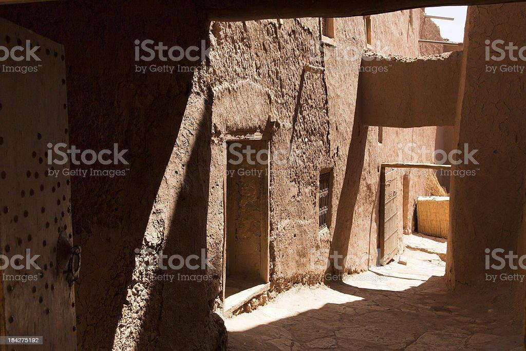 Ait Ben Haddou, Maroc stock photo