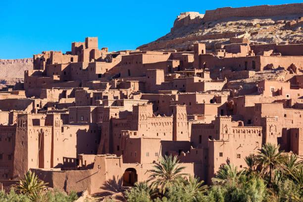 aït ben haddou - kasbah bildbanksfoton och bilder