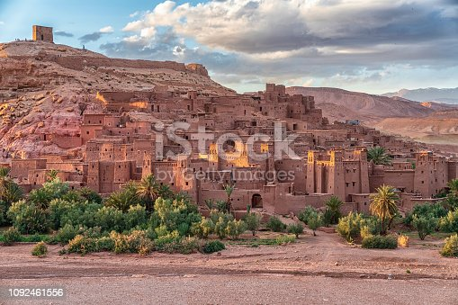 872393896istockphoto Ait Benhaddou - Ancient city in Morocco North Africa 1092461556