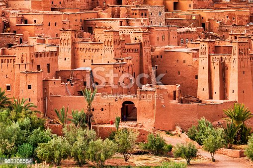 872393896istockphoto Ait Benhaddou - Ancient city in Morocco North Africa 982108584