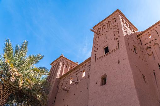 모로코 아프리카에서에서 고도계 Benhaddou 요새 벽 0명에 대한 스톡 사진 및 기타 이미지