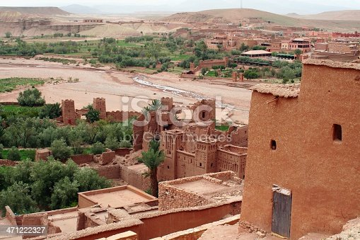istock Ait Benhaddou from above 471222327