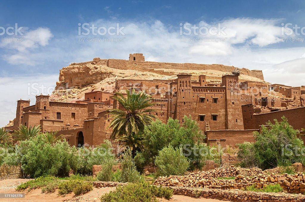 Ait Benhaddou Kasbah, Morocco stock photo