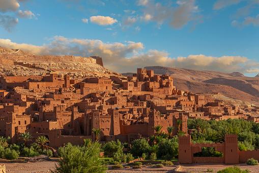 Ait Benhaddou village near Marrakech. UNESCO World Heritage Site,