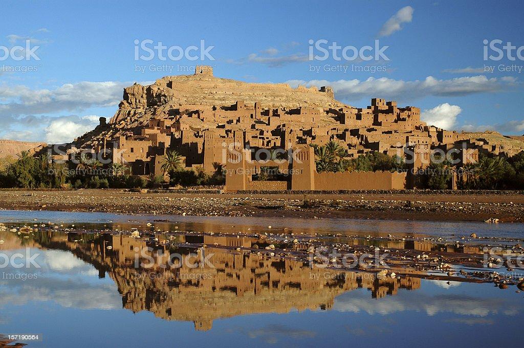 Ait Benhaddou Morocco stock photo