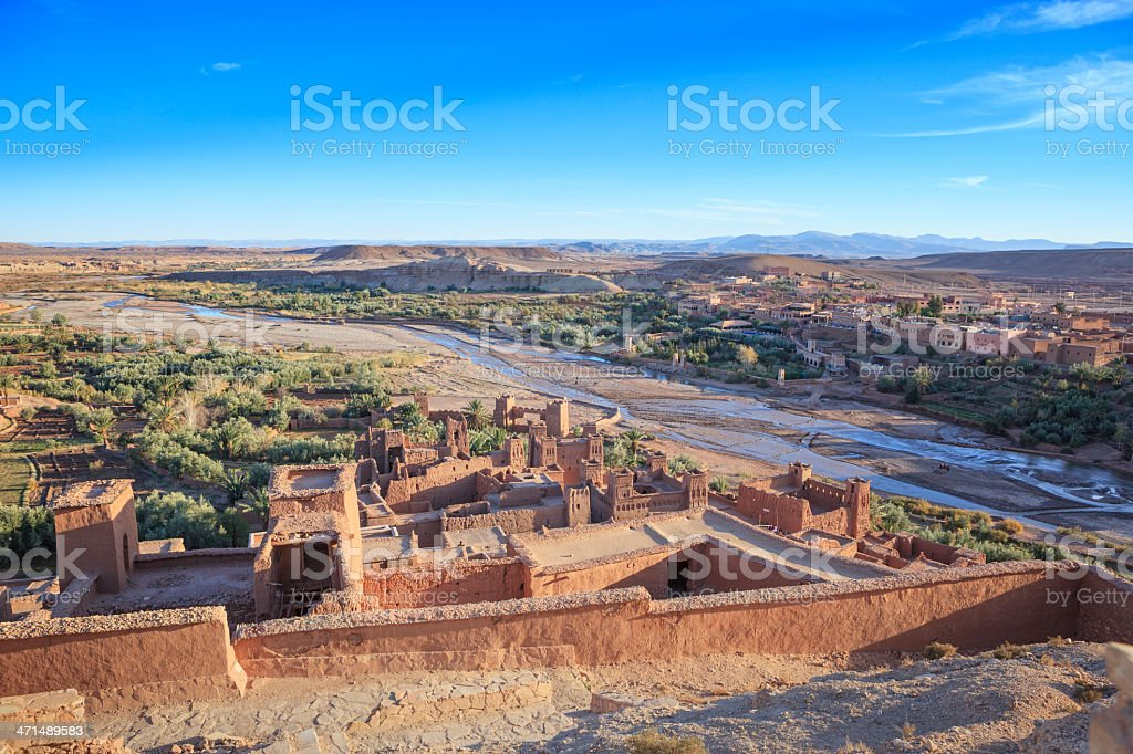 Ait Ben-Haddou, Morocco royalty-free stock photo
