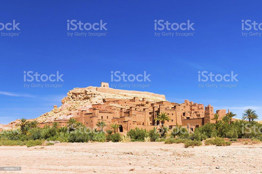Ait-Benhaddou, Ouarzazate, Marokko. Lizenzfreies stock-foto