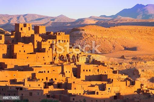 872393896 istock photo Ait Benhaddou, Ouarzazate, Morocco. 499778501