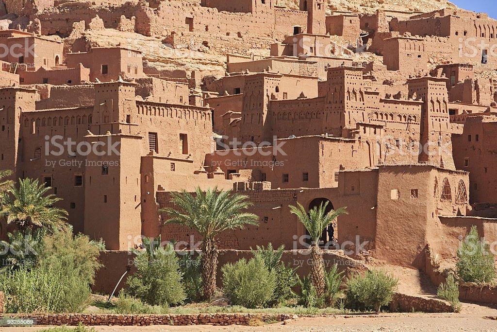Ait Benhaddou, Ouarzazate ,  Morocco royalty-free stock photo