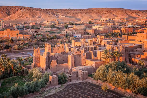 ait-ben-haddou, morocco - kasbah bildbanksfoton och bilder
