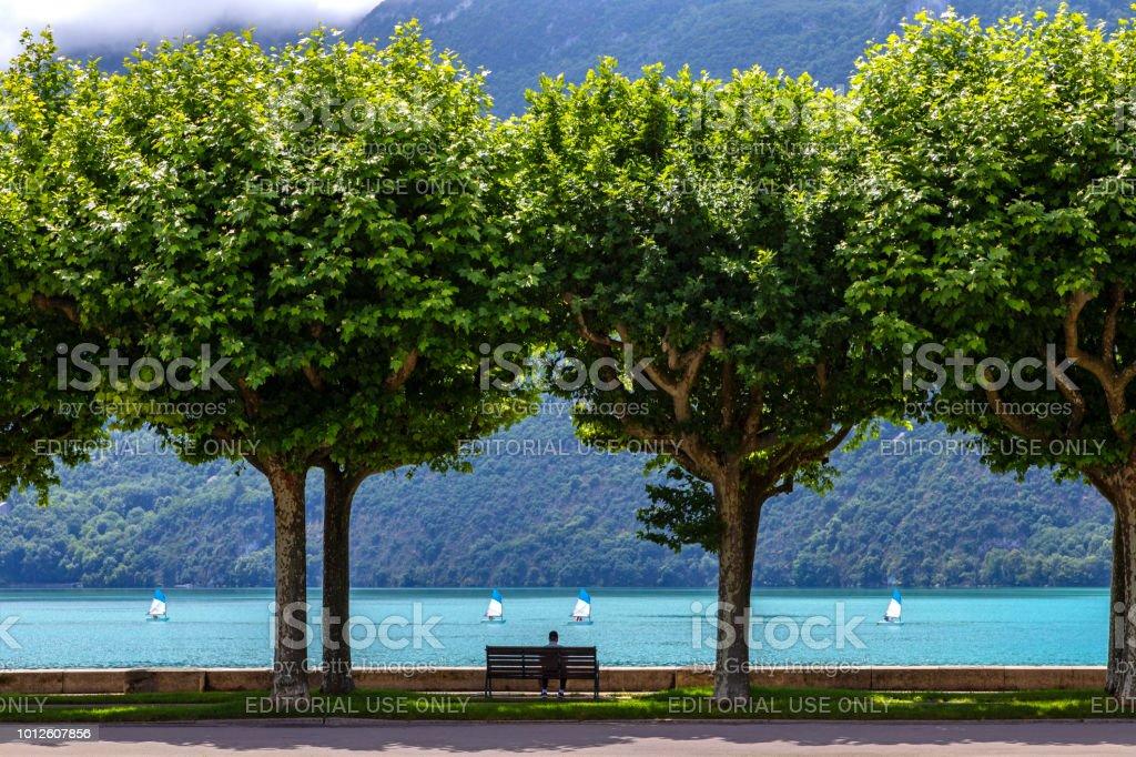Aix les Bains dans la région Rhône-Alpes Auvergne-Rhone-Alpes - Photo