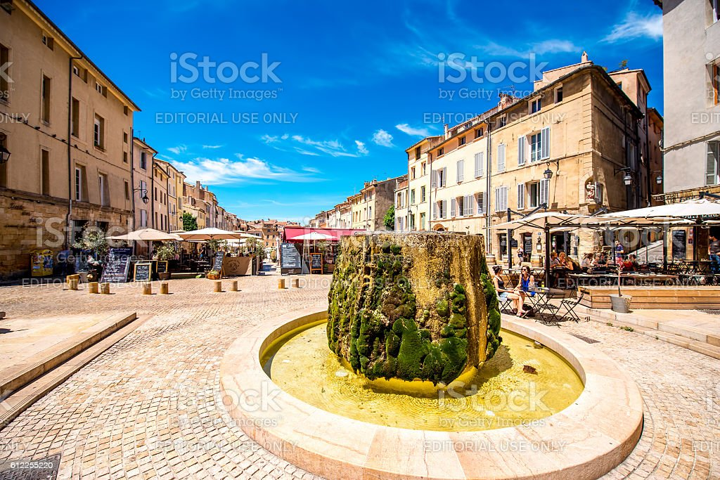 Aix-en-Provence city in France - Photo