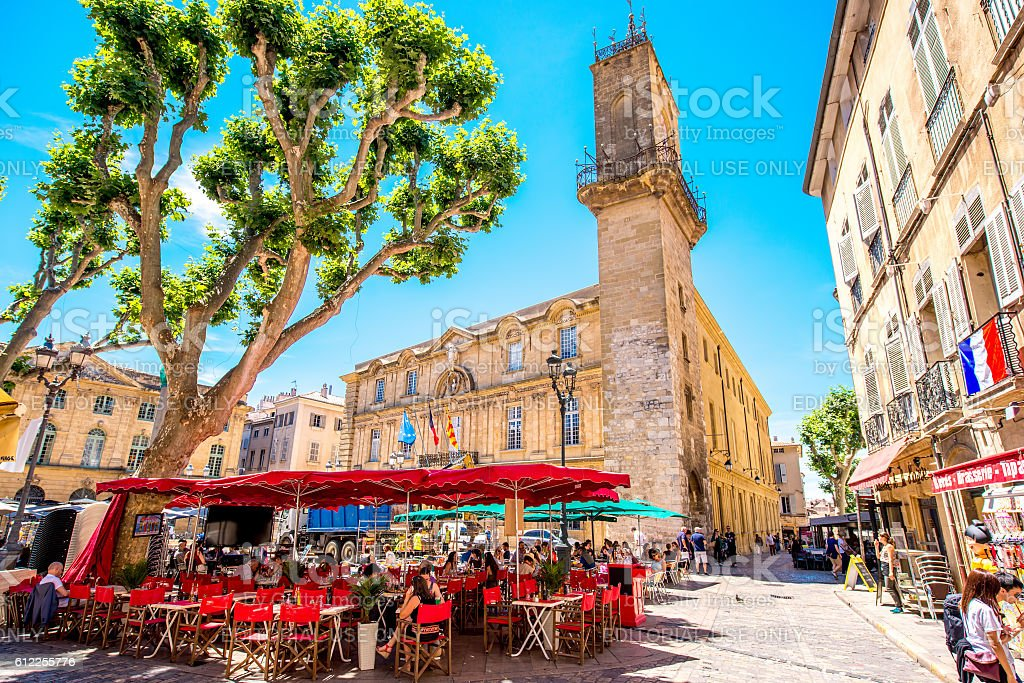 aixenprovence city in france stock photo more pictures of aix en provence istock. Black Bedroom Furniture Sets. Home Design Ideas