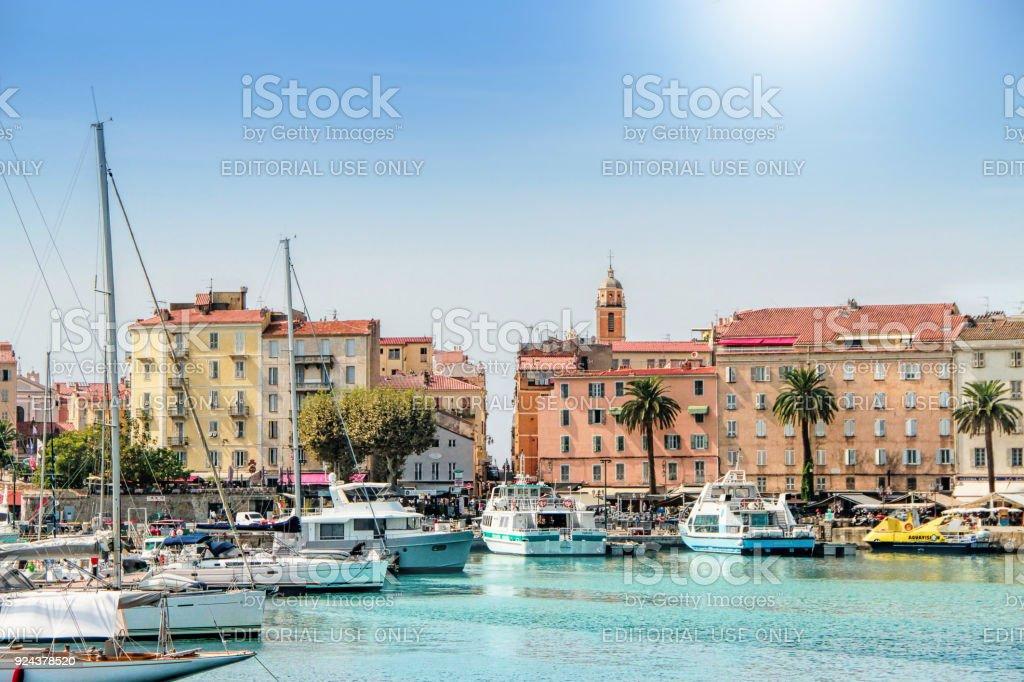 Ajaccio, isla de Córcega, Francia - foto de stock