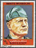 istock Ajman 1972 Benito Mussolini (1883-1945), series Figures Second World War 177531805