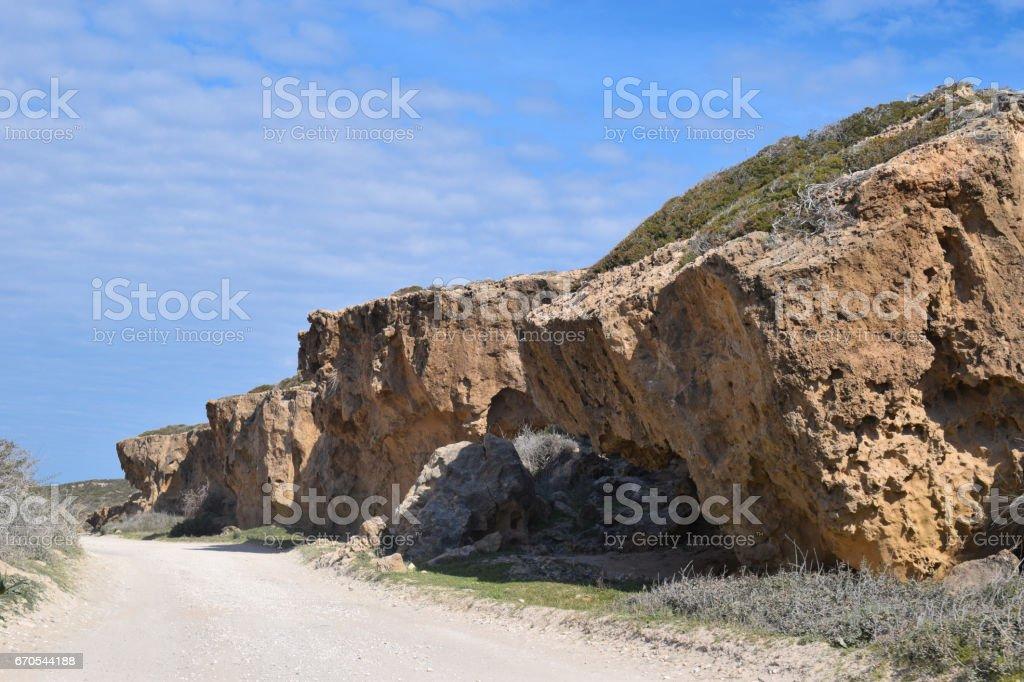 Akamas - Cyprus stock photo